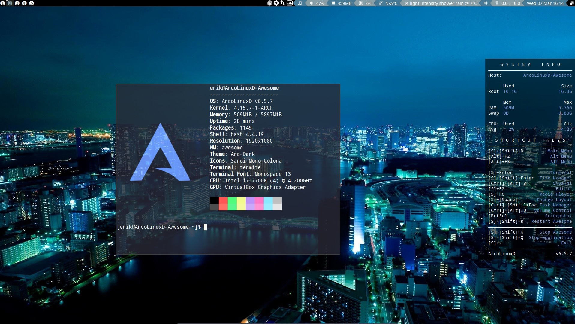 5 Starting Neofetch automatically in the terminal – any desktop