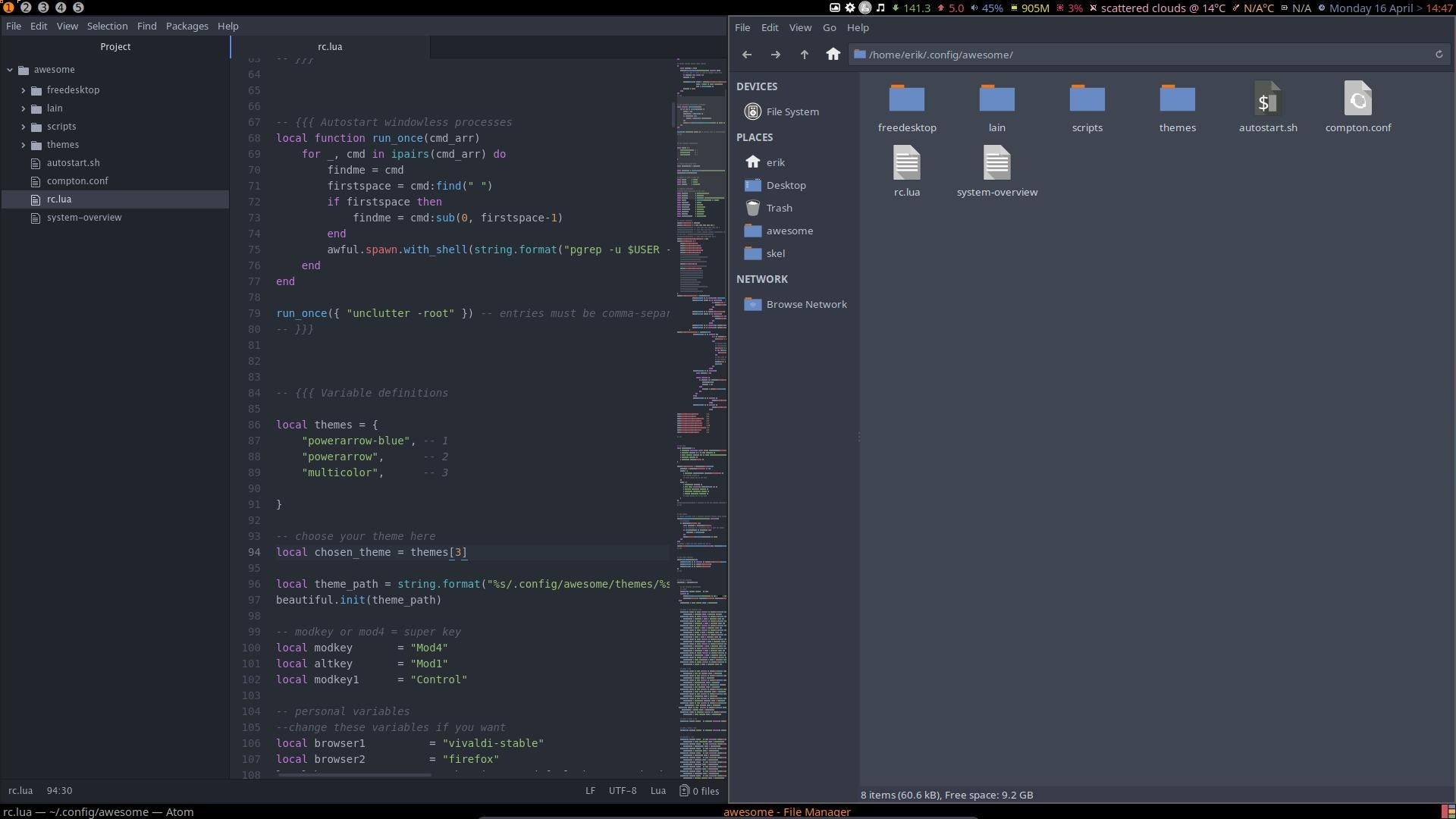 13 Installation of Awesome on Arch Linux Phase 4