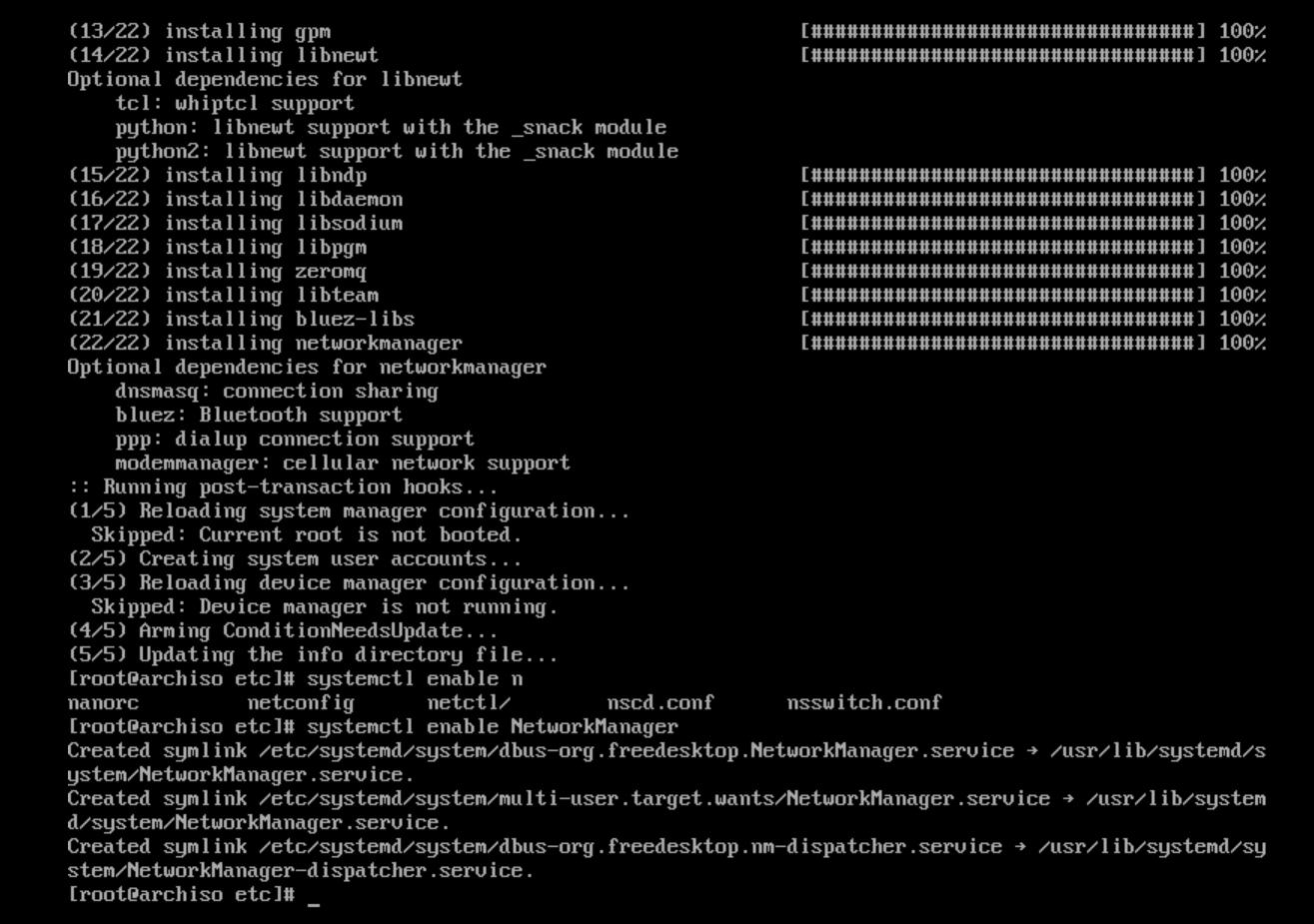 5 The actual installation of Arch Linux Phase 1 BIOS   Arcolinuxd com